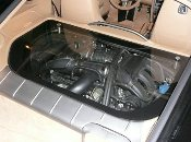 Porsche Cayman Transparent Engine Cover